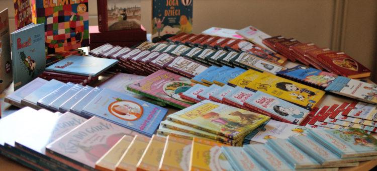 Książki wyruszą na spotkanie z przedszkolakami